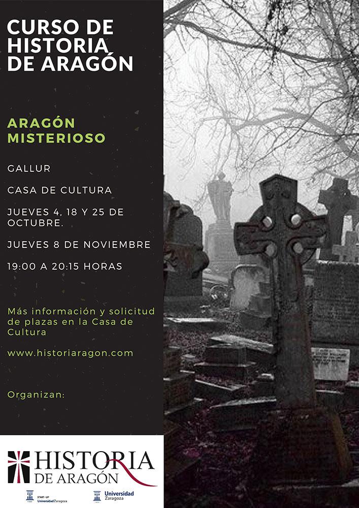 Cartel curso historia de Aragón