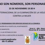 VIOLENCIA DE GENERO 25 DE NOVIEMBRE