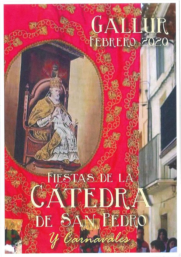 GALLUR FEBRERO 2020 FIESTAS DE LA CÁTEDRA DE SAN PEDRO Y CARNAVALES